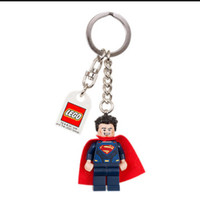 LEGO 853590 SUPERMAN DARK BLUE SUIT KEY CHAIN