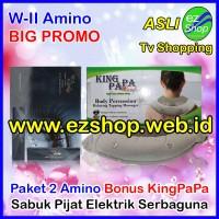 BIG PROMO 2 W2 Amino Bonus Mesin Pijat Elektrik Long Lashes Solution