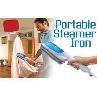 Tobi Steam Brush & Iron Garment Streamer / Setrika Uap - White