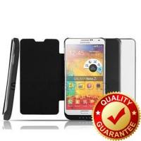 Power Case Flip Cover 5200mAh For Samsung Note 3 N9000 LarisJaya