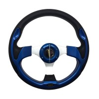 harga Setir Mobil Modifikasi MOMO Racing 13' - Biru Tokopedia.com