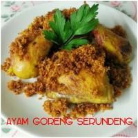 Ayam Goreng Serundeng + Sambal
