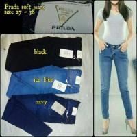 Jual Celana Soft Jeans Cewek Prada // Jeans Cewek Prada Murah