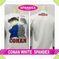 Kaos Baju T-Shirt Detective Conan Spandeks