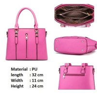 6599 pink Grosir tas wanita jinjing import terbaru korea