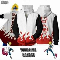 sweater anime (tokoh naruto) yundaime hokage