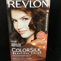 Revlon Color Silk Cat Rambut No. 46 Medium Golden Chestnut Brown