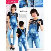 harga Jumpsuit Jeans Nagita #realpicture Tokopedia.com