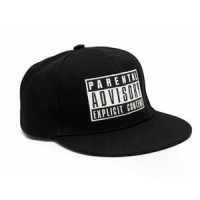 Topi Snapback PARENTAL ADVISORY EXPLICIT CONTENT