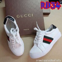 Flat Shoes Replika G.U.C.C.I 2cm (RD34 Putih)