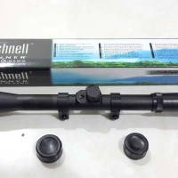 harga Rifle Scope / Teleskop Bushnell 4x20 Tokopedia.com