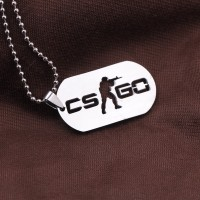 Kalung CS GO Counter Strike necklace CSGO PS XBOX PC GAMES Stainlees