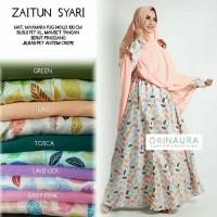 ZAITUN SYARI BY NAURA / GAMIS CANTIK BULU