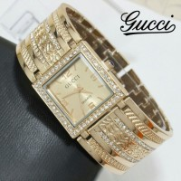 Jam Tangan Wanita / Cewek Gucci 031 Semi Super