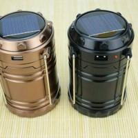 Lampu Lentera 3sumber Power (Tenaga solar, Cas Listrik dan Baterai AA)