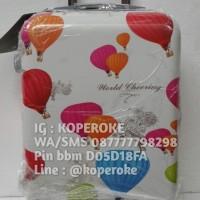 harga Tas koper fiber motif balon polo team murah Tokopedia.com
