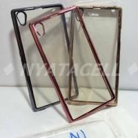 Case List Chrome Sony Xperia Z1 L39hl/TPU/Softcase/Ultrathin/Bumper