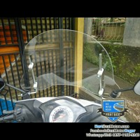 windshield honda beat new fi universal kaca tameng angin motor