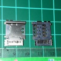 Samsung i8262 Sim Card + mmc connector (sim no.1)