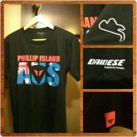 "stock t-shirt premium dainese ""Phillip Island"" -import"