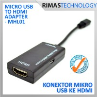 Micro USB To HDMI Adapter - MHL01