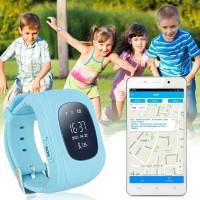 harga Blue GPS Watch Children Kids Tracker Jam Tangan Pelacak Lokasi Anak Tokopedia.com