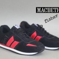 Sepatu Macbeth Fischer Murah (black, navy, grey)