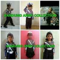baju polisi anak / seragam polisi anak /Pocil