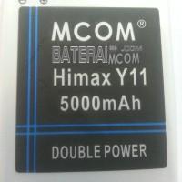 Baterai Battery Double Dobel Power Himax Y11 Aura Mcom 5000Mah