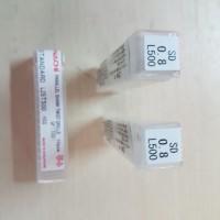 harga Mata Bor HSS 0.8 mm NACHI Tokopedia.com