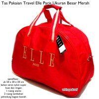 TRAVEL BAG ELLE MERAH