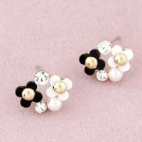 NA432 anting fashion jewelry import korea style giwang bunga flowers
