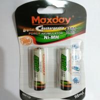 Baterai Batery Cas AA Maxday 4700mah Ni-Mh Battery Rechargeable