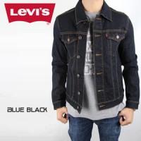 JAKET JEANS PRIA LEVIS BLUE BLACK