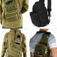 Jual Tas Selempang Slempang Cowok Pria Army tactical sling waist tote Bag Murah