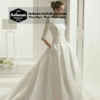 Kain Satin Bridal Dutches
