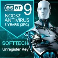 ESET NOD32 ANTIVIRUS 3 YEARS 3 PC