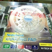 Cooling fan/cooling pad /kipas laptop universal merk m-tech 02