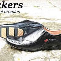 Kickers Pantofel Premium / Sepatu Kerja Kantor Kantoran Kulit asli
