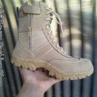 sepatu boots Safety ujung besi Moofeat Radial delta / Boots casual