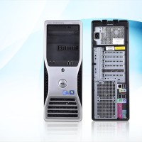Ram 8gb, vga FX1800 - PC Server Workstation DELL T3500 Xeon QC