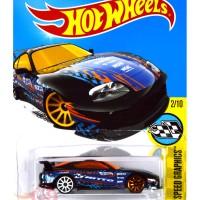Toyota Supra HITAM / BLACK NITTO TIRES - Hot Wheels HW Hotwheels