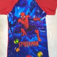 Jual baju renang anak laki karakter spiderman 2 XL - 4 XL Murah