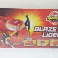 Mainan Gasing Beyblade Tor Blade Blaze Liger Box Besar Murah Meriah