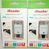 Jual I Flash Device (Otg) Combo / Ireader 3in1 For Iphone And Android Murah