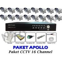 Paket CCTV Nextcam 16 Channel Outdoor APOLLO