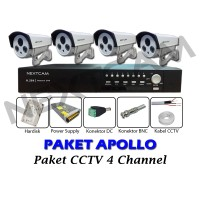 Paket CCTV Nextcam 4 Channel Outdoor APOLLO