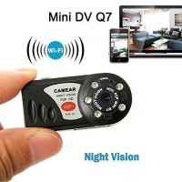 Wifi IP Camera Mini Q7 Spy Hidden Camera With IR night vision P2P