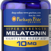 Jual Melatonin 10 mg - Sleep Aid - for Insomnia and Jet Lag - USA Murah