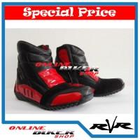 harga Sepatu Touring Rvr Rush V2 Red Tokopedia.com